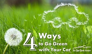 Simple Things You Can Do to Make Your Car More Environmentally Friendly