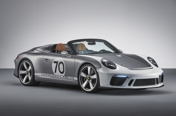 Porsche 911 Speedster Concept Fascinates U.S. Audience