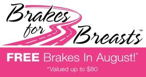 Virginia Auto Service Partnering with Brakes for Breasts