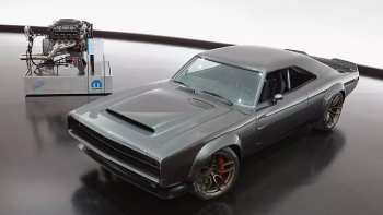 'Hellephant' in the Room: Mopar Stampedes into SEMA with 1,000 Horsepower 426 Crate HEMI Engine